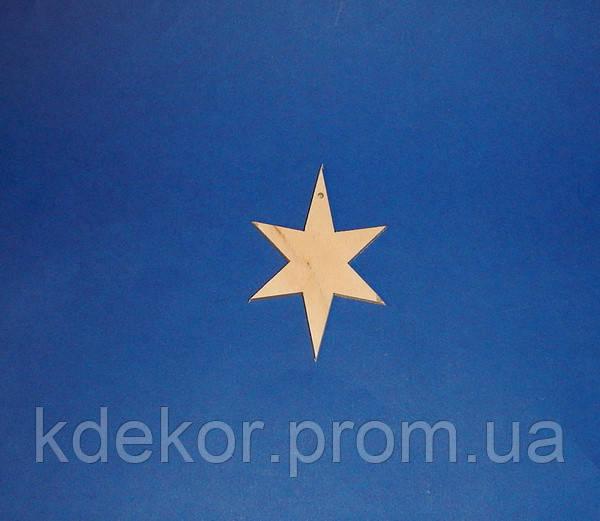 Звездочка (Звезда)  заготовка для декупажа и декора