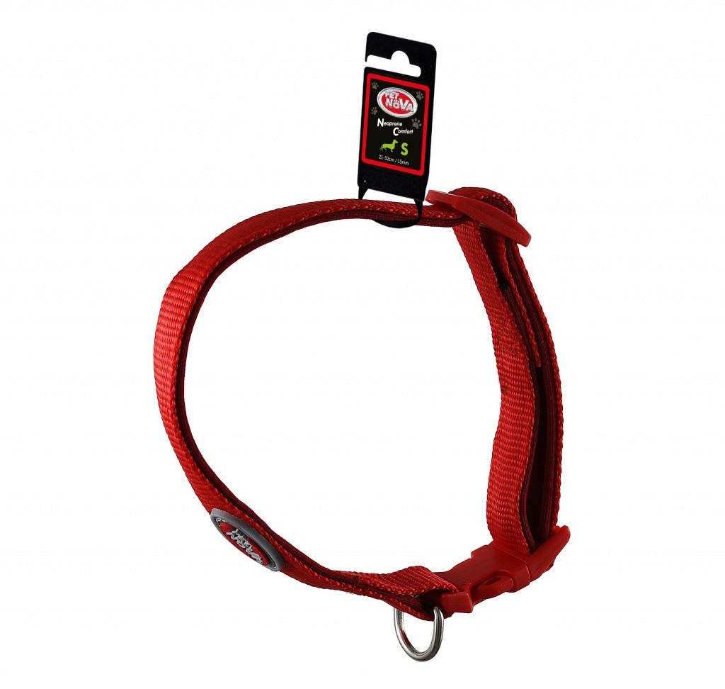 Ошейник Pet Nova Neoprene Comfort Red XL
