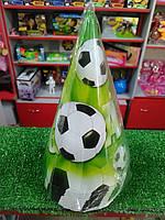 Колпачок на день рождения с рисунком футбольный мяч