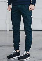 Мужские синие брюки карго Staff cargo indigo modern, фото 1