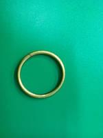 Кольцо на кованый карниз  труба 25мм антик