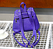 Рюкзак женский кожзам с заклепками Daren Коричневый, фото 5