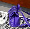 Рюкзак женский кожзам с заклепками Daren Коричневый, фото 4