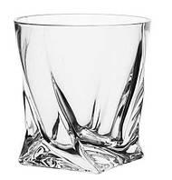 Стаканы для виски Quadro Crystal Bohemia