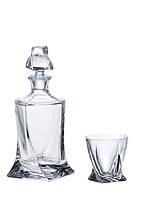 Набор для виски Quadro Crystal Bohemia
