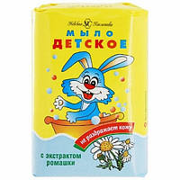 """Детское мыло """"Ушастый нянь"""" 90гр. с екс.ромашкы 6шт / уп"""