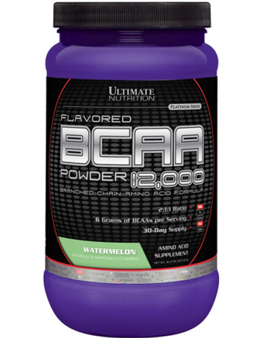 UltN Flavored BCAA 12,000 Powder  228 g-watermelon NEW