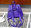 Рюкзак женский кожзам с заклепками Daren Бежевый, фото 3