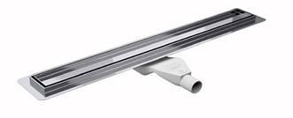 Душовий канал Premium з фланцем для гідроізоляції решітка PURE