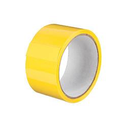 Лента клейкая упаковочная Optima жёлтая 48*30