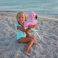 Подушка baby Flamingo розовый, рисунок 25см, фото 1