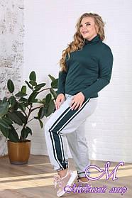 Женские спортивные брюки большого размера (р. 48-90) арт. Лорис