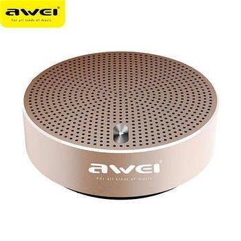 Колонка Bluetooth Awei Y800 Gold