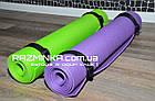 Коврик каремат для йоги 180х60см, толщина 5мм, фото 3