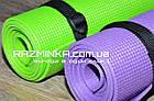 Коврик каремат для йоги 180х60см, толщина 5мм, фото 2