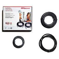 Тонкий нагревательный кабель Hemstedt DR 1500 Вт 120 m 10.0 м2 теплый пол электрический для укладки под плитку