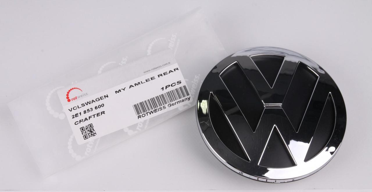 """Эмблема двери (задней) """"VW"""" VW Crafter 06- (RWS1338) ROTWEISS"""