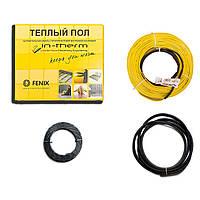 Теплый пол электрический IN-THERM 550 Вт 3,2 м2 (м кв.) нагревательный кабель для укладки под плитку