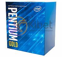 Процессор Intel Pentium Gold (LGA1151) G5400, Box, 2x3,7 GHz, UHD Graphic 610 (1050 MHz), L3 4Mb, Coffee Lake, 14 nm, TDP 54W (BX80684G5400)