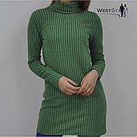 Гольф-туніка жіноча зелена