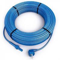 Нагревательный кабель со встроенным термостатом Hemstedt FS 10 m 10 Вт/м для обогрева трубопроводовов