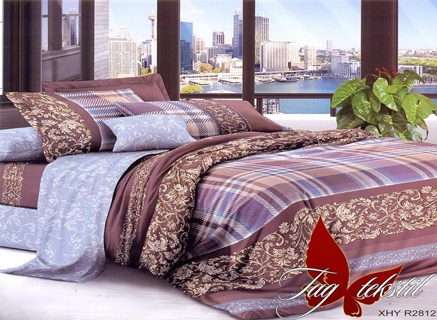 Комплект постельного белья XHY2812 двуспальный (TAG polycotton 2-sp-536)