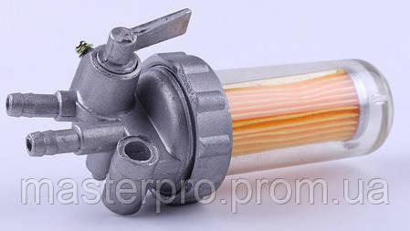 Кран топливный (стакан пластиковый) - 190N, фото 2