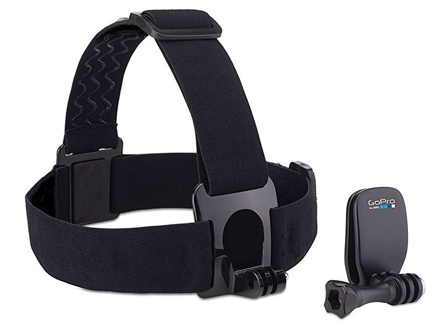 Крепление на голову GoPro Head Strap + QuickClip (ACHOM-001) оригинал