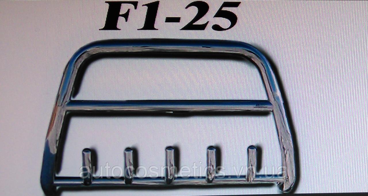 Кенгурятник F1-25.