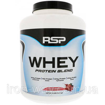 RSP_WHEY PROTEIN BLEND - 1,81kg - STRAWBERRY