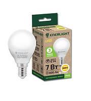 Лампа світлодіодна сфера Enerlight P45 7Вт 3000K E14