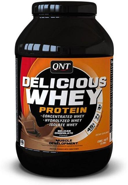 QNT_Delicious Whey Protein 908 г - Chocolate