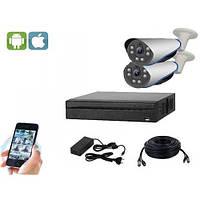 Комплект видеонаблюдения на 2 камеры UDC AHD-Kit 2.2S