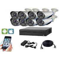Комплект видеонаблюдения UDC AHD-Kit 2.8S. Набор на 8 камер для дома, офиса и дачи