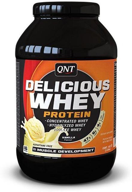 QNT_Delicious Whey Protein 908 г - Vanilla