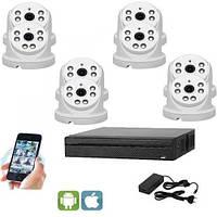 Комплект видеонаблюдения UDC IP-Kit1.8 . Комплект видеонаблюдения на 8 камер для дома, офиса и дачи