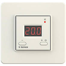 Терморегулятор terneo st стандарт белый/слоновая кость