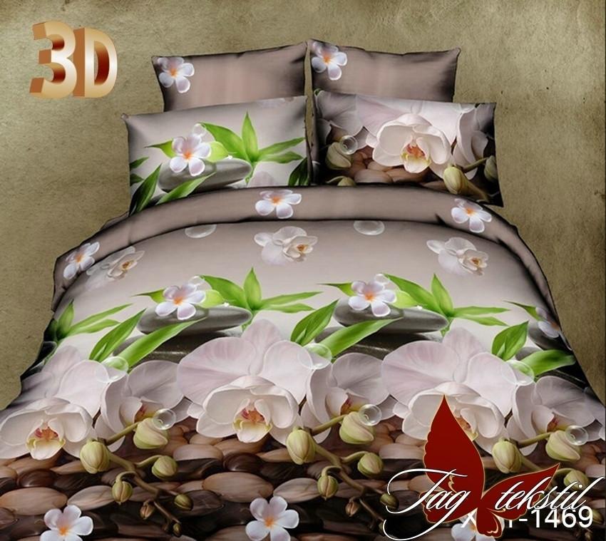 Комплект постельного белья XHY1034 двуспальный (TAG polycotton-275/д)
