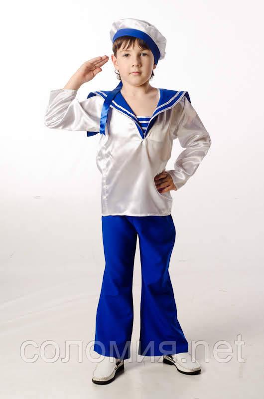 Детский карнавальный костюм для мальчика Матрос 110-152р