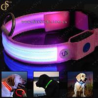 """Светящиеся ошейники для собак - """"Led Neck"""" - USB!, фото 1"""
