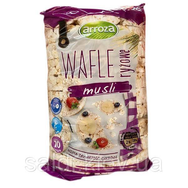 Рисовые вафли хлебцы Wafle ryżowe musli