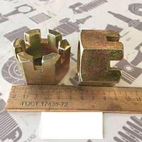Гайка М33х1,5 h32-33мм КРАЗ КАМАЗ УРАЛ корончатая (ТС) Палец реактивной штанги (55111-2919032-01)