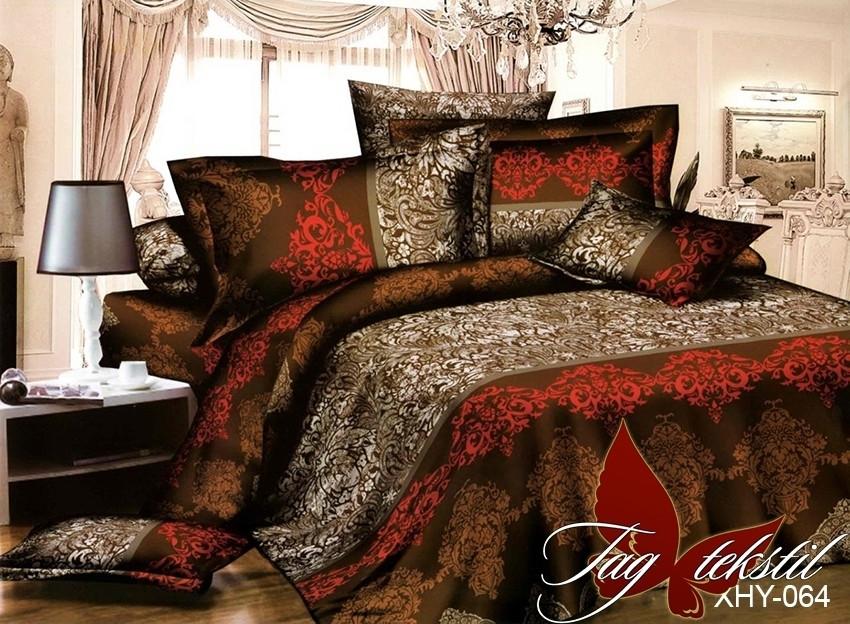 Комплект постельного белья XHY064 двуспальный (TAG polycotton 2-sp-539)