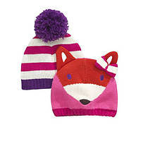 """Ladybird, набор из 2 шапок для девочки """"Лиса"""""""