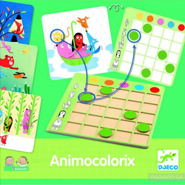 "DJECO Гра настільна ""Animo Colorix"", Анимоколорикс"