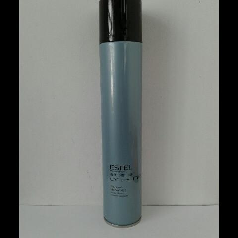 Лак для укладки волос Estel Always 400 мл. (Профессиональный ! Сильная фиксация), фото 1