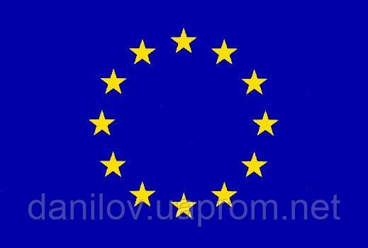 Прапор ЕС 100х150 см, атлас