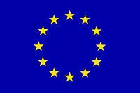 Прапор ЕС 100х150 см, атлас, фото 1