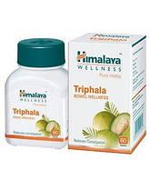 Трифала Хималая - Triphala Himalaya для очищения от шлаков и токсинов, 60 таб, производитель Индия Хималая