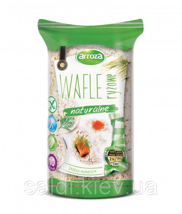 Рисовые вафли хлебцы Wafle ryżowe naturalne